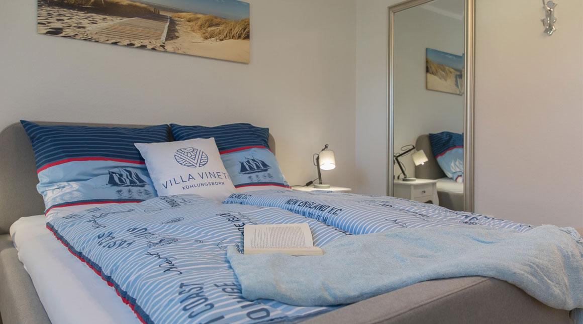 Austenfischer-Ferienwohnung-schlafbereich-villa-vineta