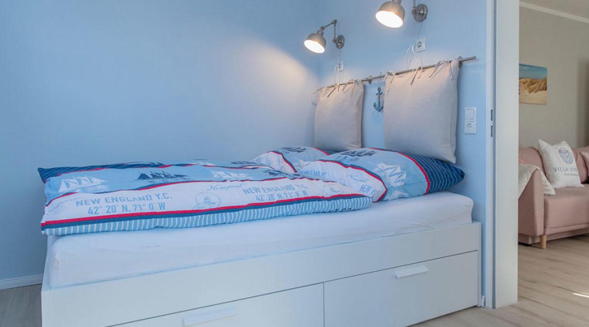 Kormoran-Ferienwohnung-schlafbereich-villa-vineta