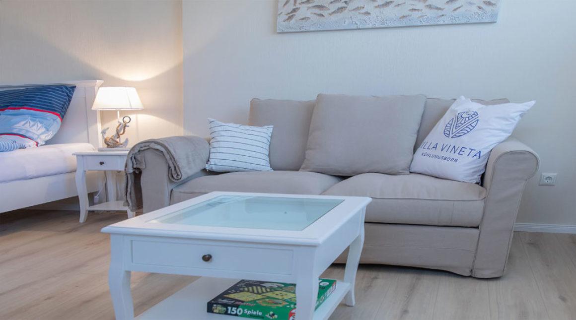 Seeschwalbe--Ferienwohnung-schlafbereich-villa-vineta